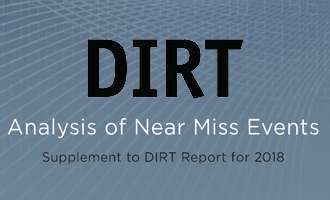 DIRT Report - Analysis of Near Miss Events (2015-2018)