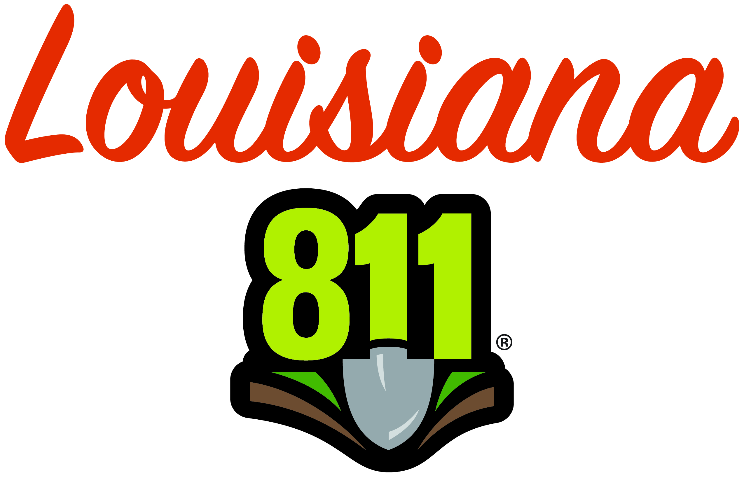 Louisiana 811 Logo