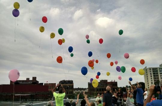 Regional Partners - NY DP council balloon release image